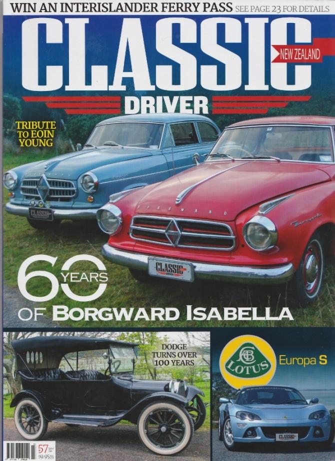 Clasic Driver Borgward